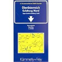 Haute-Autriche Salzbourg Nord. Feuille 3, 1/150 000