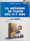 Partition : Méthode des 4-7 Ans - Piano...