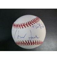 firmata-jane-thomas-major-league-baseball-in-inchiostro-blu-sul-sweet-spot-the-mick-autografato