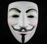 MASCHERA V FOR VENDETTA halloween mask per carnevale GUY FAWKES UNTOUCHABLES