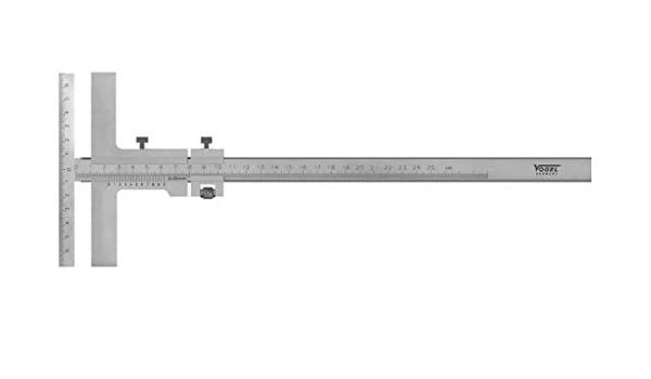 PREISSER MESSTECHNIK GMBH 0344301 Anrei/ßmessschieber L.160mm Feineinstellung PREISSER Ablesung 0,05mm