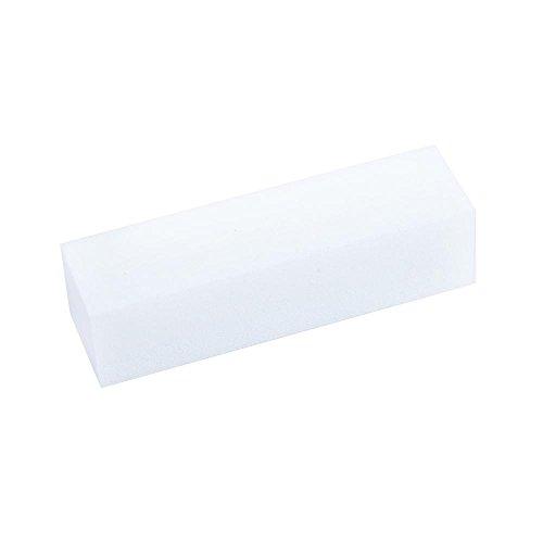Set di 3lime per lucidatura, per unghie & Nail Art, bianco