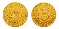 Gold Babenberger 1000 Schilling, Goldmünze, Anlagemünze, Anlagegold, Feingold, Edelmetall