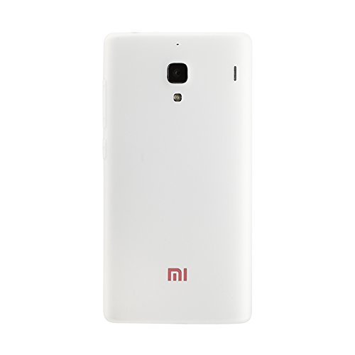 Red Qube Back Replacement Cover For Xiaomi Redmi 1s (White)