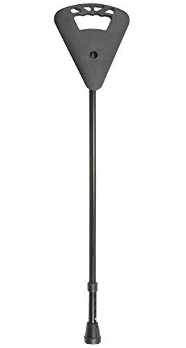 Gehstock Gehhilfe Teleskop-Sitzstock Flipstick Standard schwarz