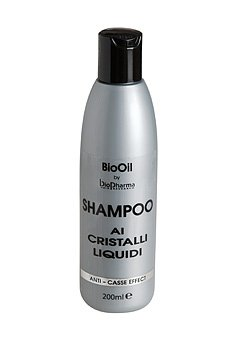 Bio Oil - Cheveux Shampooing contre les cheveux cassés et pointes fourchues Cristaux liquide - pour que vos Cheveux afin de Restaurer SA Beauté naturelle