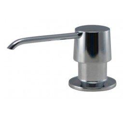 Pompe à savon/ distributeur de savon Mizzo Vardo - distributeur de désinfectant - chromé - flacon 300ml - accessoires de