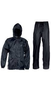 indo Unisex Polyester Rain Suit With Carry Bag (Free Size)