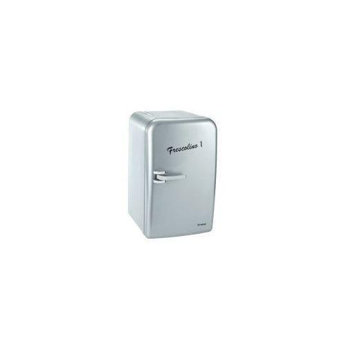 Preisvergleich Produktbild Trisa Frescolino Silver Tisch-Kühlschrank silber Mini Kühlschrank