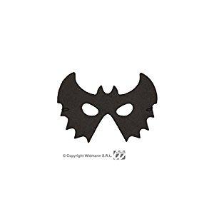 Schwarze Fledermausmaske Batman Maske Fledermaus Halloween Halloweenmaske Batmanmaske als Kostüm - Batman Halloween Maske