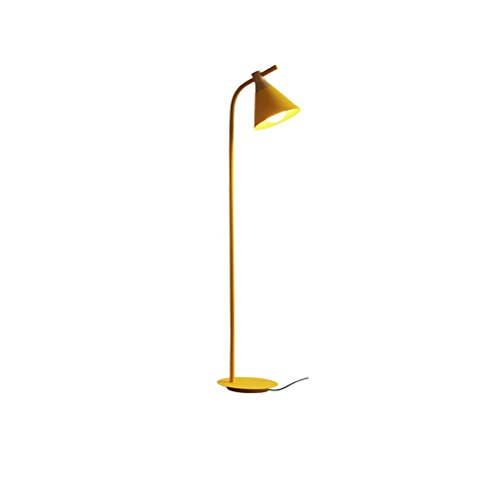 Nordic Einfache Kreative E27 Holz Stehlampe Moderne Warme Schlafzimmer Lampe Nacht Studie Gelb Stehlampe 132x20 cm 0615P -