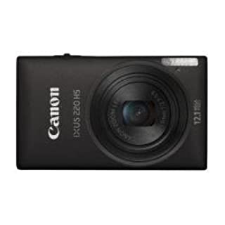 Canon IXUS 220 HS - Cámara Digital Compacta 12.1 MP (2.7 pulgadas LCD, 5x Zoom Óptico) - Negro (B0055ZGAYA) | Amazon price tracker / tracking, Amazon price history charts, Amazon price watches, Amazon price drop alerts