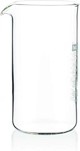 Bodum 1503-10, Ersatzglas für Kaffeekolben 3 Tassen, Transparent, 0,35 Liter