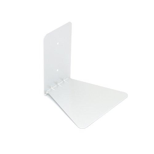 Umbra 330638-660 Conceal unsichtbares Bücherregal aus Metall, klein, weiss