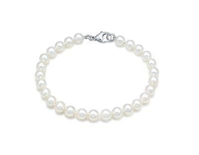 Bracciale Miluna Filo perle e oro 750/1000 referenza PBR1677