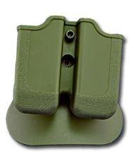 Taurus 92Double Paddle Mag Pouch OD Grün dreht 360Grad langlebigem Polymer hergestellt -
