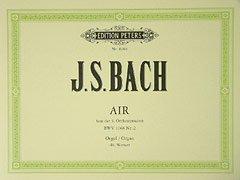 AIR (ORCHESTERSUITE 3 D-DUR BWV 1068) - arrangiert für Orgel [Noten/Sheetmusic] Komponist : BACH JOHANN SEBASTIAN