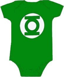 Costumes Funny Infant - TV Ranger Vert Lanterne Uniforme pour femme