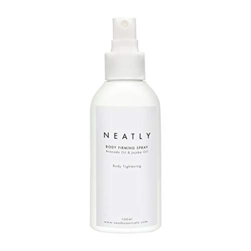 Anti Cellulite Körper Öl von Neatly | Straffung für das Bindegewebe als Spray 100ml | Mit Anti Aging Effekt | Gegen Dehnungsstreifen 100% Bio
