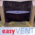6 x EASYVENT härtet IN LOFT Belüftung Kondensflüssigkeit die LOFT - DIY Installation