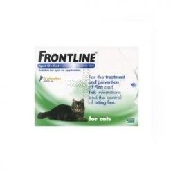 Frontline Spot On Cat 10 Wv Spot On Solution 6 Pack by Frontline