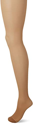 Medium Support-strumpfhosen (Pretty Polly Damen 15d Light Support Tights Strumpfhose, 15 DEN, Beige Nude, Large (Herstellergröße: ML) (erPack 3))
