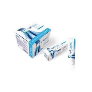 OptiLube Tubes – Steriles Schmiergelee in 5g-, 42g-, 82g- und 113g-Röhrchen, wasserlöslich mit einfach zu verwendendem Flip-Cap (82g Tube – Box von 12)
