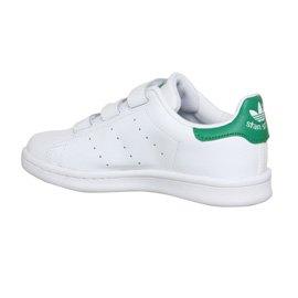 adidas Originals Stan Smith CF, Unisex-Kinder Sneakers, M20607 Weiß