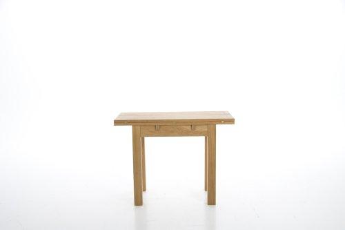 ABC Home Lampentisch skandinavischer Stil hochklappen Tisch, natur