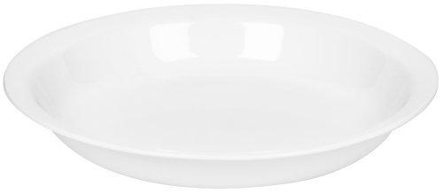 Corelle Livingware 9-Inch Deep Dish Pie Plate, Winter Frost White by CORELLE Deep Dish Pie Plate