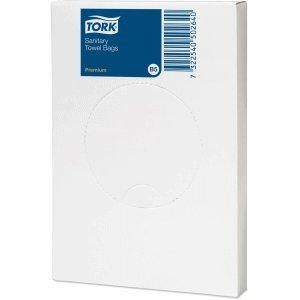 Tork Hygienebeutel 5 Liter B5-System weiß VE=25 Stück