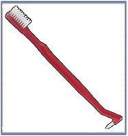 OrthoSpace orthodontic brace Toothbrush V-Trim