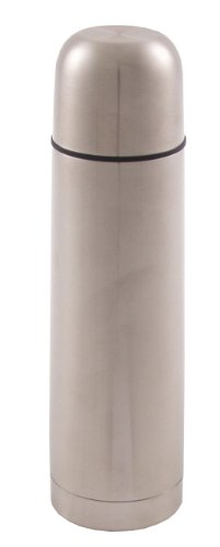 Fox Outdoor Bouteille isotherme Vakuum à système de fermeture rapide en acier inoxydable Argent Argent 500 ml
