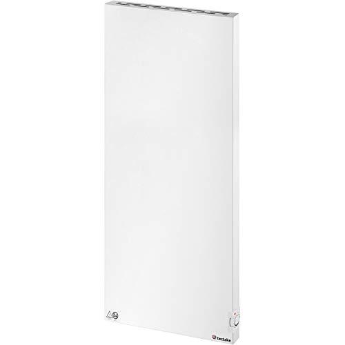 TecTake 800671 - Infrarotheizung mit Thermostat in Weiß, Überhitzungs- und Überspannungsschutz, inkl. Wandhalterung - diverse Modelle (1400W | Nr. 403127)