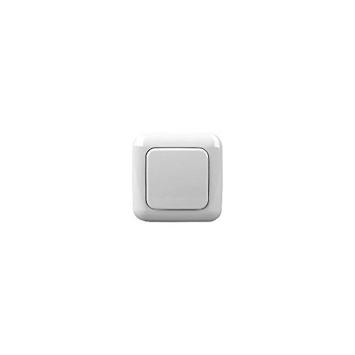 Z-Wave.Me Rahmen + Einzelnes Paddel BJ, arktisch weiß, ZME_SW2 -
