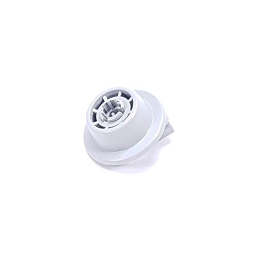 Korbrolle mit Rollenhalter passend für Bosch Siemens Spülmaschine, Geschirrspüler 611475
