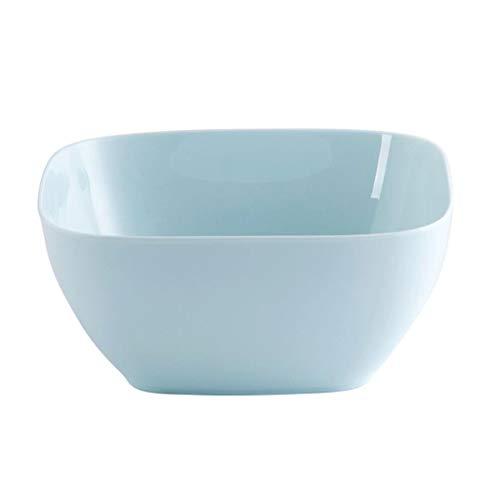 WENWEN Obstteller Moderner Unbedeutender Plastikobstschale-Wohnzimmer-Süßigkeitsspeicher (Color : Blue) -