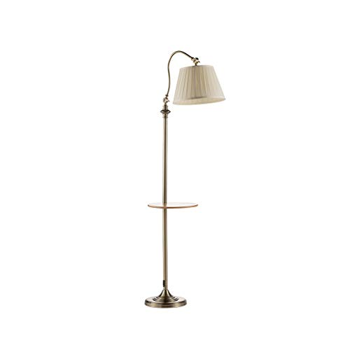 Floor Stand Lights - Angeln Lampe Stehlampe Wohnzimmer Nordic Sofa Vertikale Lampe Couchtisch Fernbedienung Lampe - Design Fixture Lighting (Farbe : A bronze-B Remote control board)