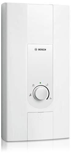Bosch elektronischer Durchlauferhitzer Tronic 5000 EB, Übertischgerät druckfest mit LED-Anzeige und 2-in-1 Leistungsumschaltung, Energieklasse A, 21/24 kW