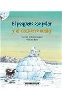 El pequeno oso polar y el cachorro husky/The little polar bear and the husky pup por Hans De Beer