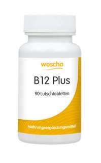 90 Lutschtabletten (woscha B12 plus (Methyl+Adenosylcobalamin) 90 Lutschtabletten (47g) (vegan))