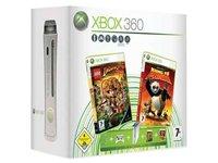 Xbox 360 - Konsole Pro mit 60 GB Festplatte inkl. Lego Indiana Jones + Kung Fu - Indiana Xbox Lego Jones