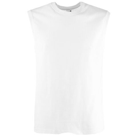 Mens Rib Knit Tanks (Fotl Mens Tank Top L,White)