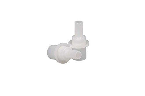 ACE Lot de 25 embouts hygiéniques pour alcootests de la marque ACE, avec valve de retenue