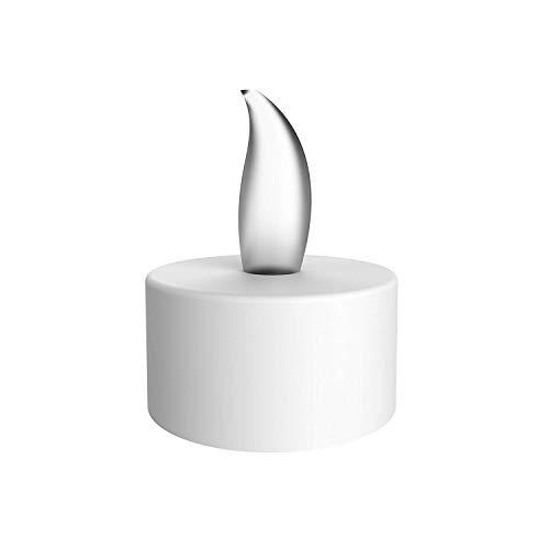Vivii Flammenlose LED Tee Kerzen, batteriebetriebenen geruchloses LED-Teelicht Kerzen, Fake Kerzen, Teelichter (36Stück) (Flammenlose Geruchlos Kerzen)