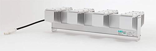 Alneo SANlight Q4W Pflanzenlampe 150 Watt Hocheffizientes LED Grow Pflanzenlicht + Netzkabel (Q4W+Netzkabel)