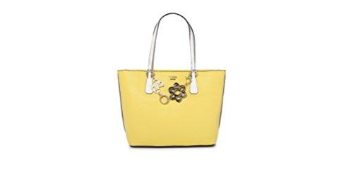 Guess Hobo, Borsa a Spalla Donna, 13x29x43 cm (W x H x L) Multicolore (Lemon Multi)