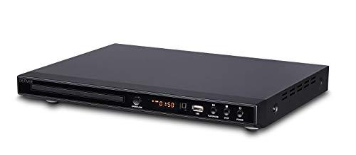 Denver 5.1 DVD-Player DVH-1244MK2 mit HDMI, Schwarz