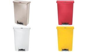 rubbermaid-collecteur-pdale-slim-jim-90-litres-rouge