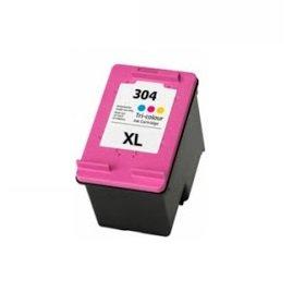 Printing pleasure xl colore cartuccia d'inchiostro compatibile per hp deskjet 2620, 2630, 2632, 2633, 2634, 3700, 3720, 3730, 3732, 3733, 3735, envy 5020, 5030, 5032 | sostituzione per hp 304xl (n9k07